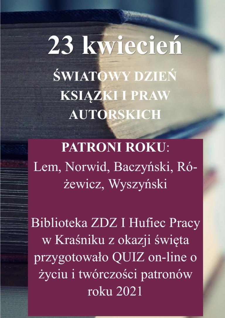 Dzień Książki w Kraśniku