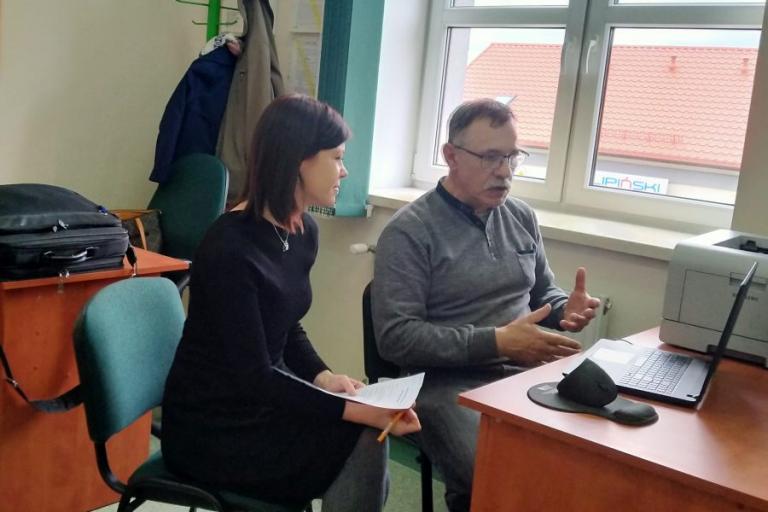 Grajewo: Współpraca Hufca Pracy i Zespołu Szkół w Wojewodzinie