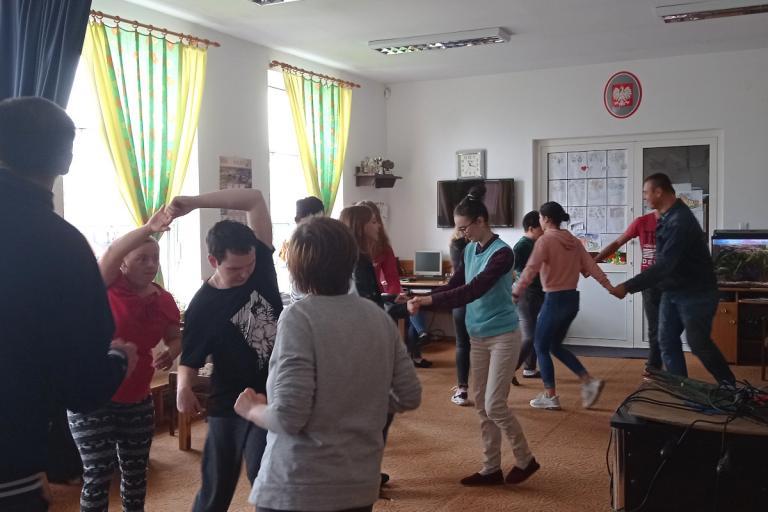 Kolno: Międzynarodowy Dzień Muzyki z podopiecznymi Warsztatów Terapii Zajęciowej