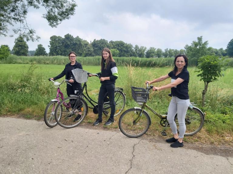 Akcja Lato 2021 – wycieczka rowerowa w Ostrzeszowie