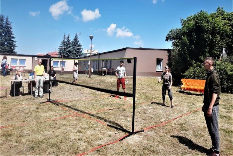 I Wojewódzkie Zawody w Badmintona Par Mieszanych Młodzieży OHP