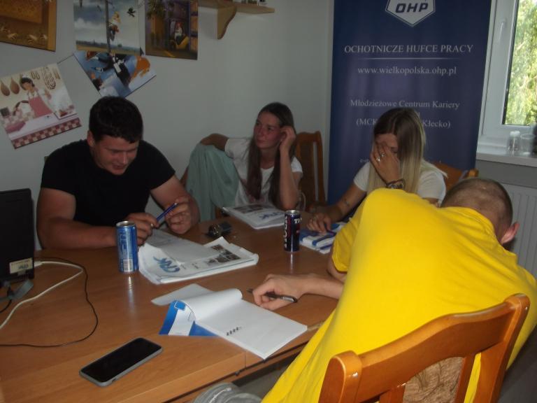 Szkolenie zawodowe w MCK we Wrześni
