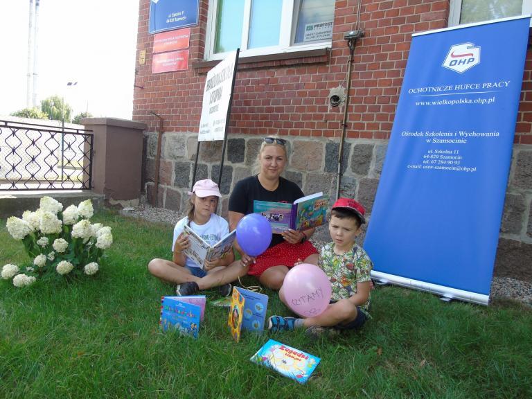 Światowy Dzień Miłośników Książek w OSiW w Szamocinie