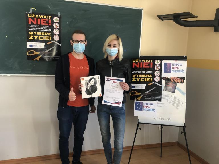 Nominacja w konkursie Młody EDUinspirator 2021 dla uczestniczki Hufca Pracy w Kościanie