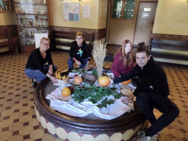 Jesiennie w Ośrodku Szkolenia i Wychowania w Niechanowie