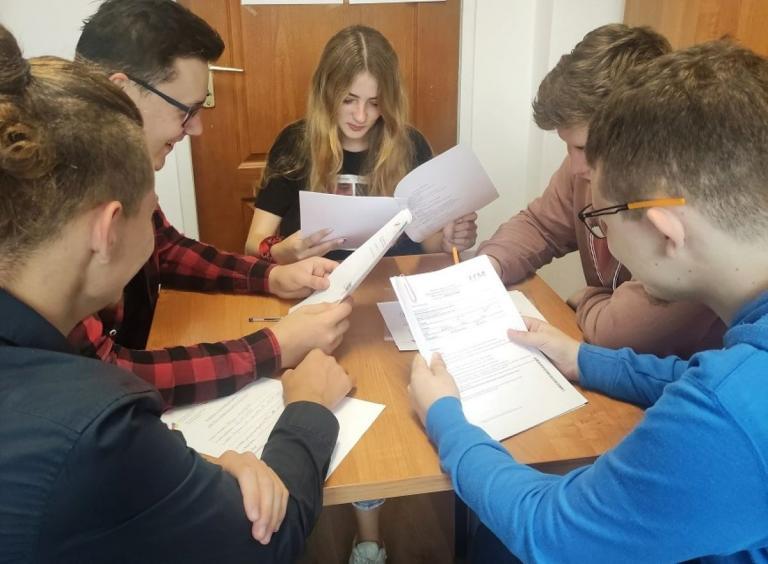 Przygotowania Młodych Ambasadorów Kultury