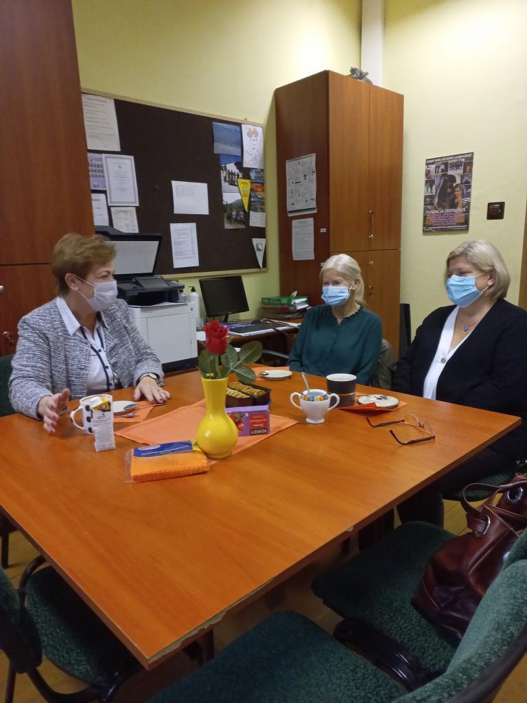 Spotkanie z kuratorami rodzinnymi Sądu Rejonowego we Wrześni