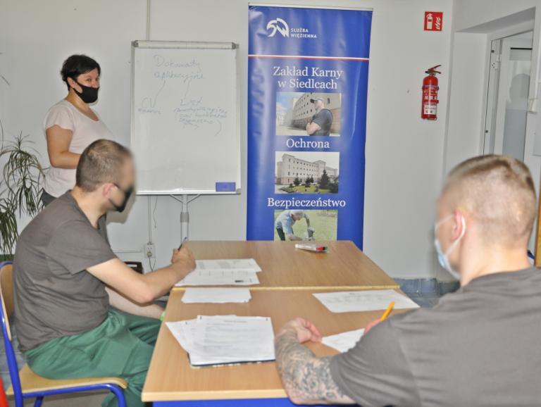 Aktywizacja zawodowa osadzonych w Zakładzie Karnym w Siedlcach
