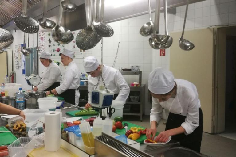 Podlascy kucharze odbywają staż we Frankfurcie nad Odrą