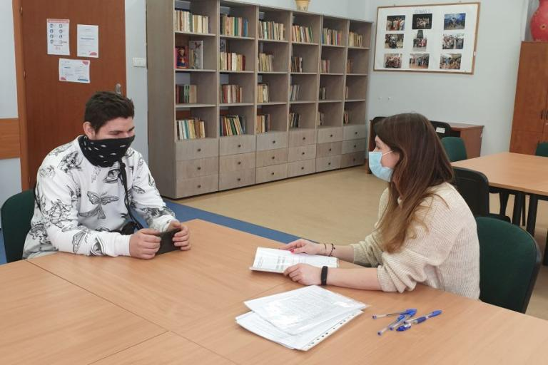 Spotkanie ze specjalistą ds. rozwoju zawodowego w Ośrodku Szkolenia i Wychowania w Wasilkowie