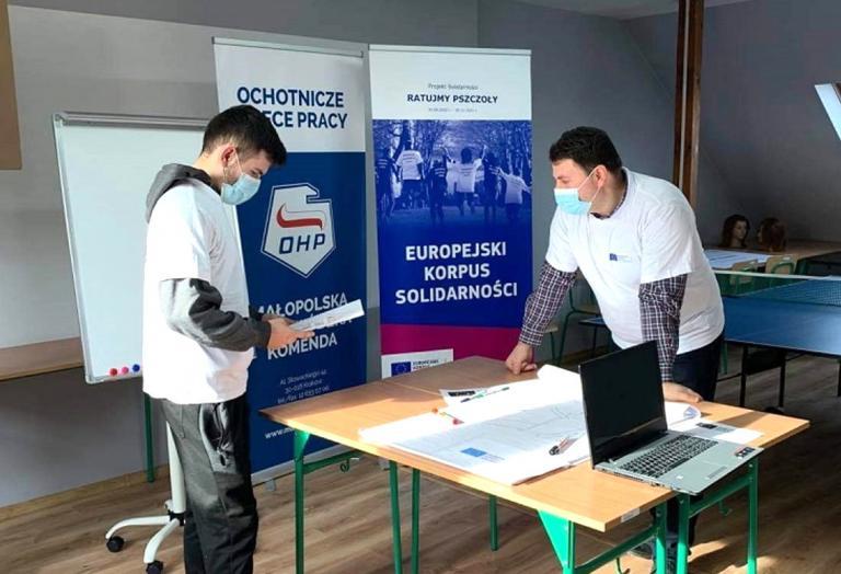 Projekt solidarności w Proszowicach