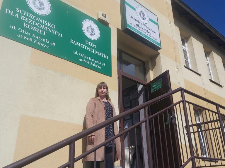 Spotkanie w Ośrodku Wsparcia dla Kobiet w Zabrzu