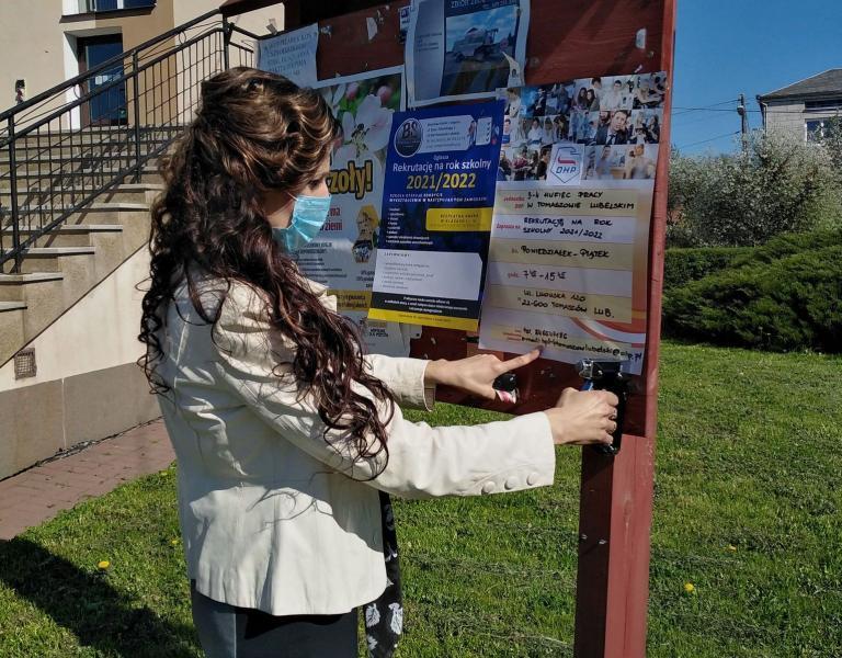 Akcja rekrutacyjna do hufca w Tomaszowie Lubelskim