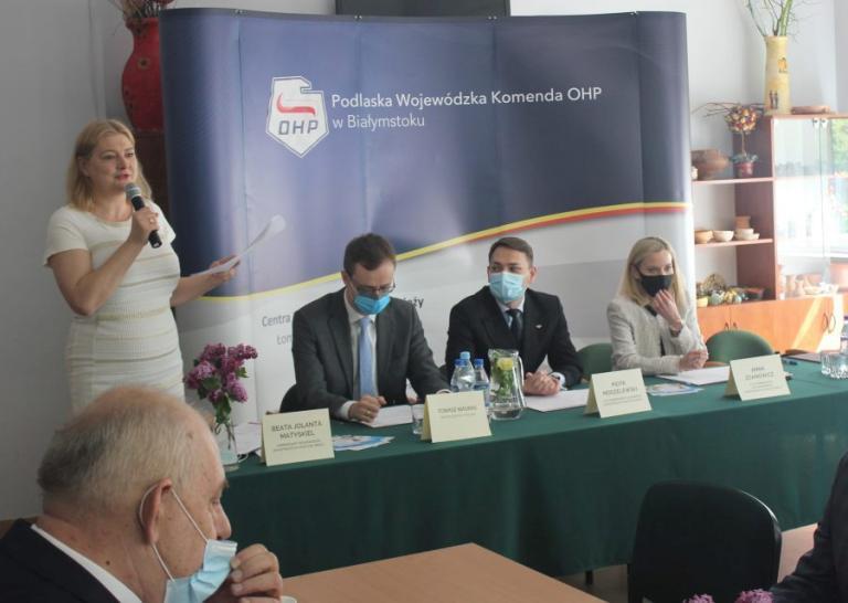 Wojewódzka Rada Programowa OHP obradowała w Ośrodku Szkolenia i Wychowania w Wasilkowie