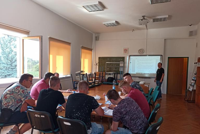 Rozpoczęcie szkolenia zawodowego w Śremie