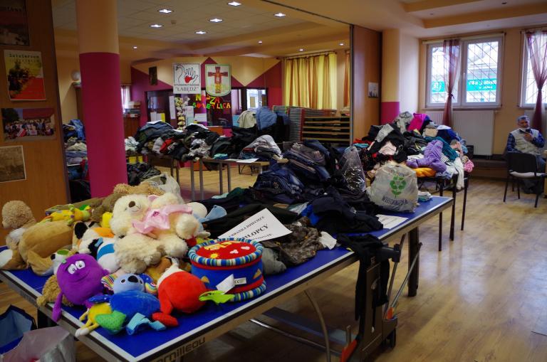 Lublin: Pomoc 16 rodzinom poszkodowanym w wyniku pożaru