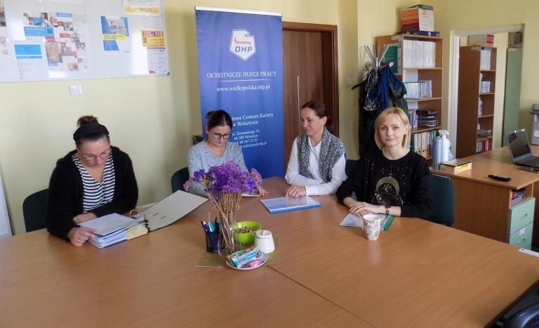 Spotkanie Zespołu Wsparcia Uczestników OHP w Wolsztynie