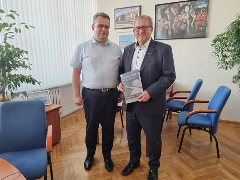 Spotkanie z przewodniczącym Komisji Edukacji Związku Miast Polskich