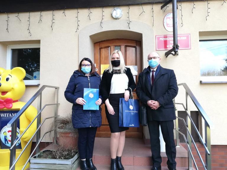 Współpraca z Przedszkolem Miejskim w Słupsku