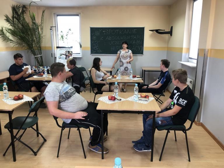 Spotkanie z absolwentami w Kościanie