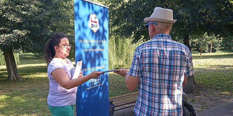 Działania promocyjne w Hufcu Pracy w Ostrzeszowie