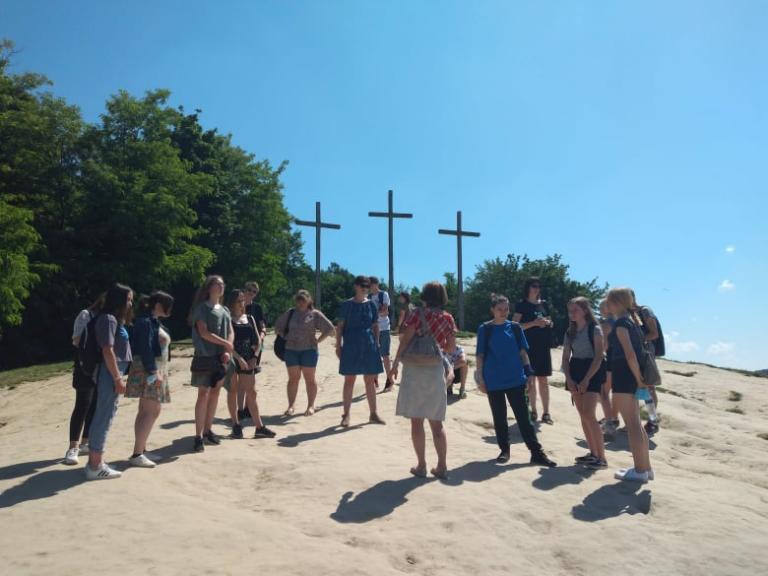 Młodzież z Kraśnika odwiedziła Kazimierz Dolny nad Wisłą