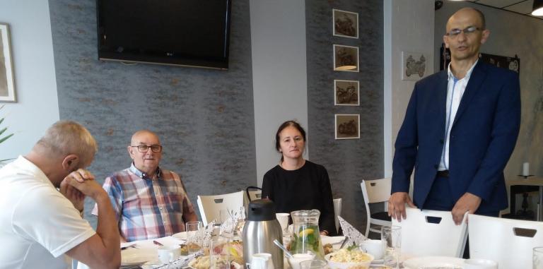 Spotkanie Dyrektora CEiPM Leszno z Cechem Rzemiosł Różnych