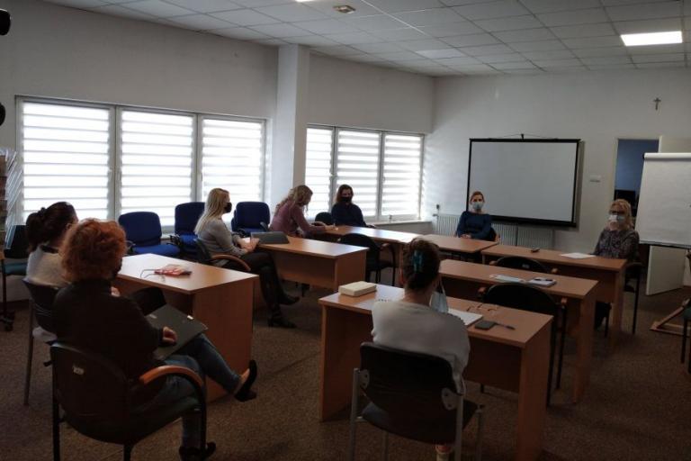 Łomża: Narada zespołu wsparcia uczestników OHP