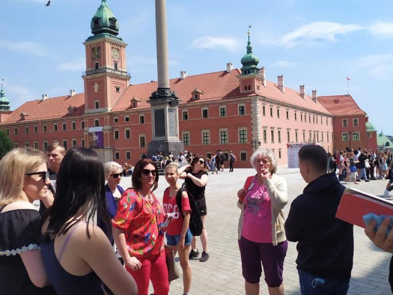 Zambrów: Zwiedzamy Warszawę