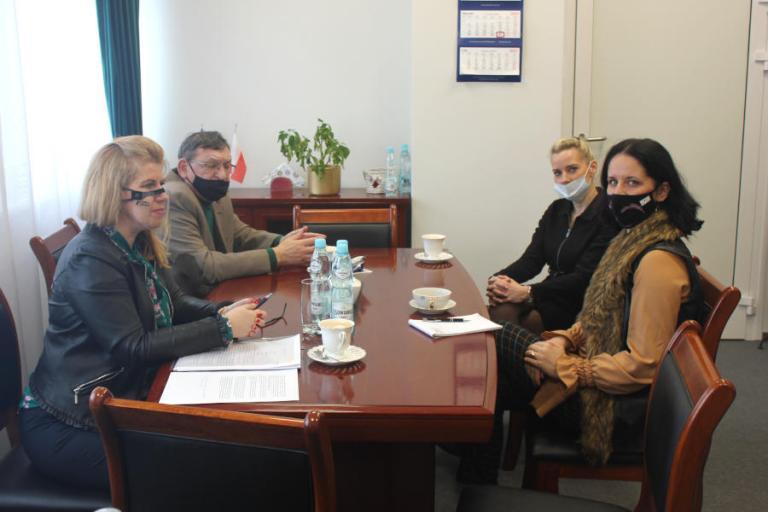 Spotkanie z reprezentantem Izby Rzemieślniczej i Przedsiębiorczości