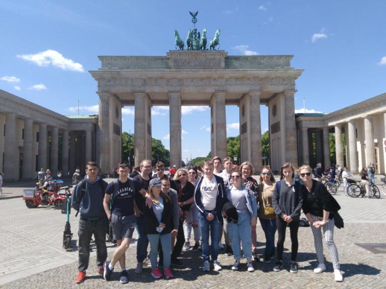Młodzież z Kolna i Łomży na stażu zawodowym w Niemczech