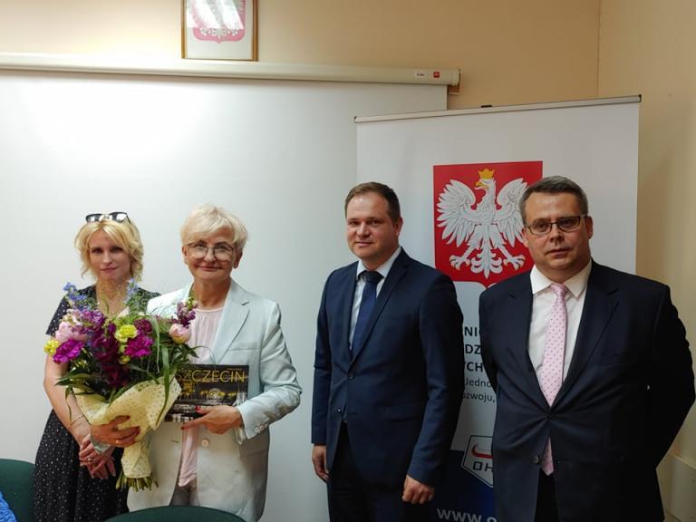 Wizyta Sekretarz stanu, pani Iwony Michałek Ministerstwo Rozwoju, Pracy i Technologii