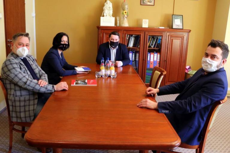 Spotkanie z prezydentem Łomży