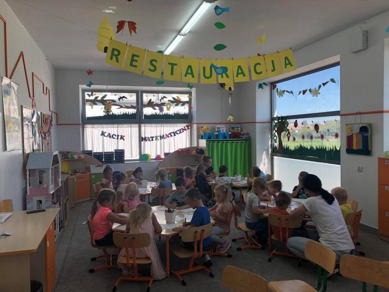 Młodzieżowe Centrum Kariery w Słupcy gościem w przedszkolu