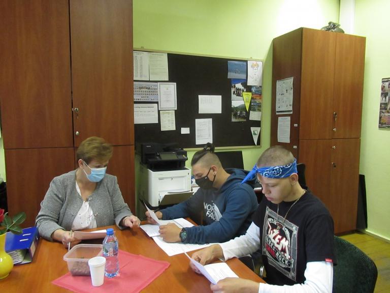 Pomoc w nauce w Hufcu Pracy we Wrześni