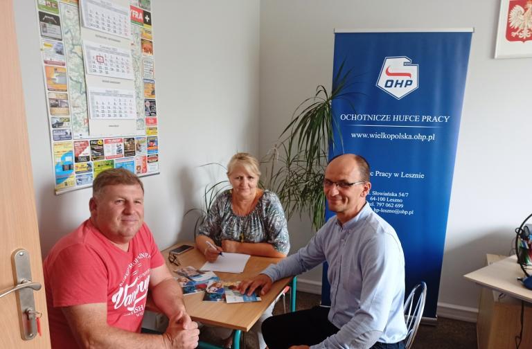 Rekrutacja Hufca Pracy w Lesznie na rok szkolny 2021/2022