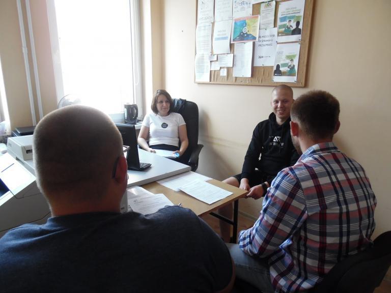 Konsultacje z pośrednikiem pracy w MCK Koło