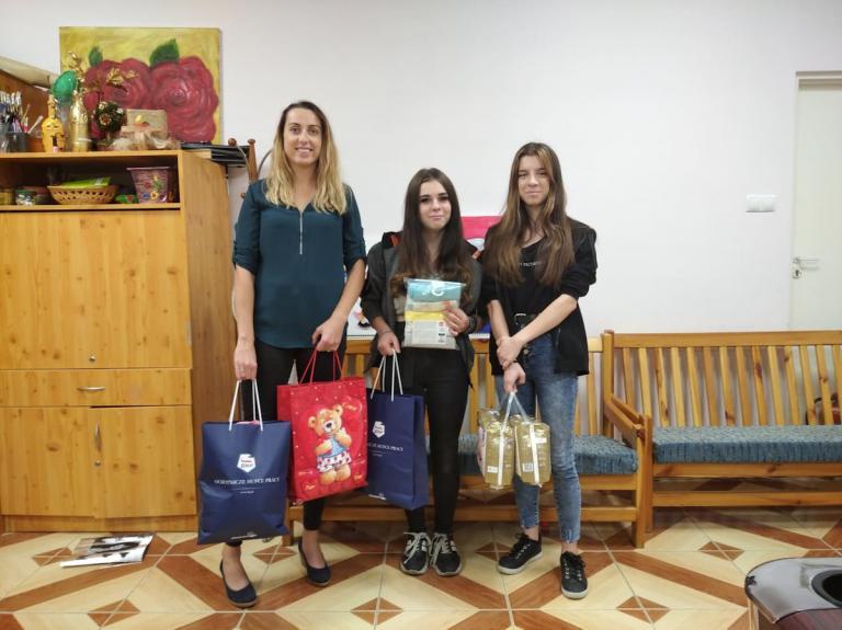 Łomża: Spotkanie z młodą mamą