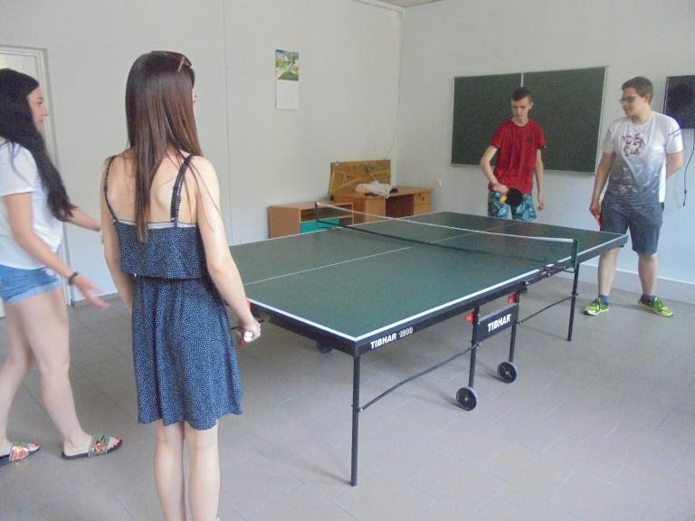 Akcja Lato w Turku – rozgrywki w tenisa stołowego