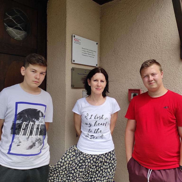 Letni wypoczynek młodzieży Hufca Pracy w Słupcy