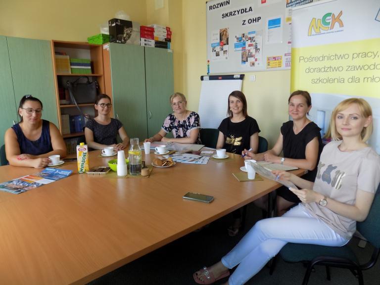 Spotkanie wolsztyńskiego Zespołu Wsparcia Uczestników OHP