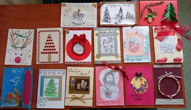 Grajewo: Hufcowy konkurs plastyczny na kartkę bożonarodzeniową