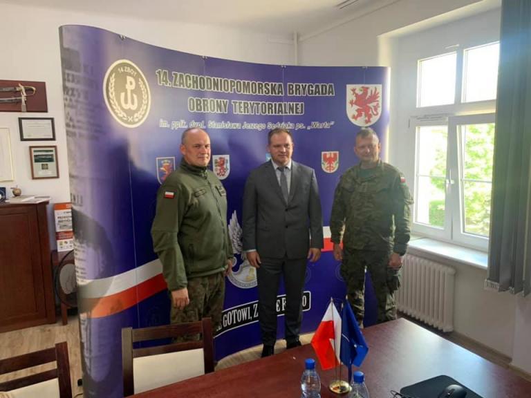 Współpraca ZWK OHP z Zachodniopomorska Brygadą Obrony Terytorialnej