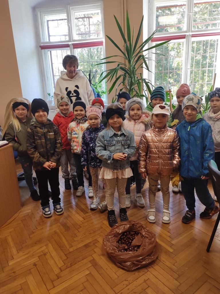 Przedszkolaki w OSiW Niechanowo