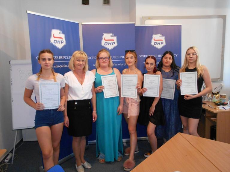 Zakończenie szkolenia zawodowego w CEiPM w Kaliszu