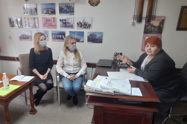 Spotkanie z Dyrektorem Cechu Rzemieślników i Innych Przedsiębiorców w Łomży