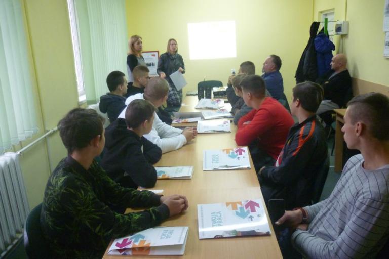 Augustów: Spotkanie przed wyjazdem na staż zawodowy do Niemiec