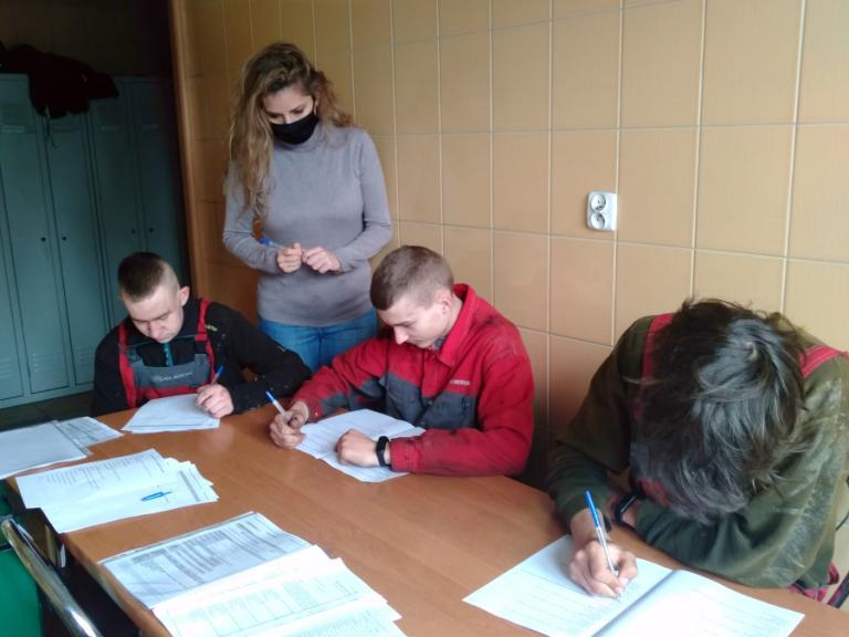 Łomża: Spotkania z uczestnikami hufca pracy w łomżyńskim MCIZ