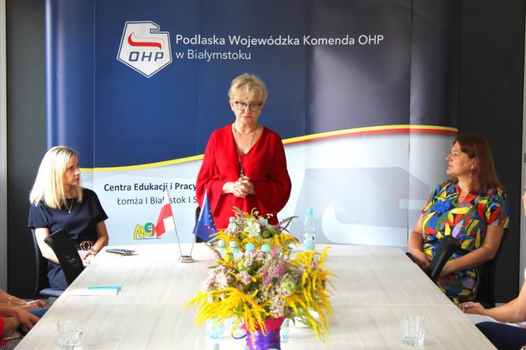 Białystok: Wizyta Minister Iwony Michałek w Białymstoku