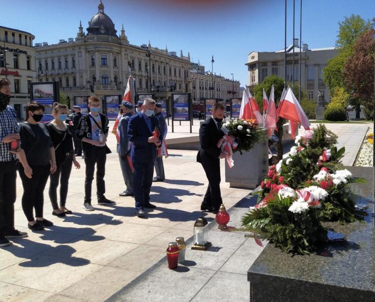 Lublin: Uroczystości rocznicowe śmierci Marszałka Józefa Piłsudskiego